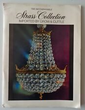 Vintage Strass Collection 1969 Chandelier Catalog Grow & Cuttle Lamps