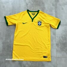 BRAZIL NATIONAL TEAM 2014 2016 HOME FOOTBALL SOCCER SHIRT JERSEY BOYS