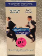 CATCH ME IF YOU CAN ** Leonardo DiCaprio -- 100's of VHS in Store, Rare & OOP