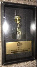 NEW Super Mario Gold Statue Figure Platinum Member Memorial Club Nintendo Japan
