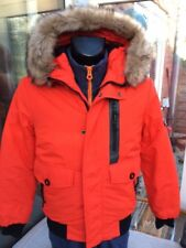 Superdry Everest Bomber Parka similar to canada goose fur hood looks fantastic S