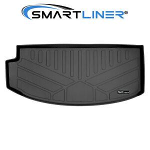 SMARTLINER All Weather Cargo Liner Behind 3rd Row Black for 18-20 Buick Enclave