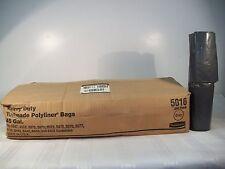 RUBBERMAID 5016 HEAVY DUTY PLASTIC GARBAGE TRASH BAG LINER - 45 GALLON - 200/CS