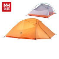 Naturehike Hiking Camping Tent Waterproof For 2 Person 4 Season With Mat 1.8Kg