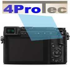 2x Hartbeschichtete Displayschutzfolie AR für Panasonic Lumix DMC-GX80 Displayfo