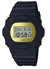 Casio G-Shock * DW5700BBMB-1 Basic Black Metallic Gold Mirror Digital Watch