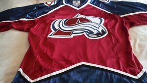 Colorado Avs pro size 52 late 90s road.  NWOT Starter brand