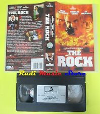 film VHS THE ROCK Sean Connery Nicolas Cage HOLLYWOOD PICTURES 1997(F76**)no dvd
