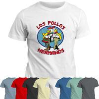 Breaking Bad Los Pollos Hermanos T-Shirt  Tee Top   Gift T Shirt   TV Show