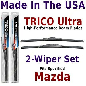 Buy American: TRICO Ultra 2-Wiper Blade Set fits listed Mazda: 13-15-15