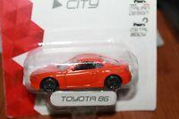 TOYOTA - GT 86 - 2012 - MONDO MOTORS - SCALA 1/64