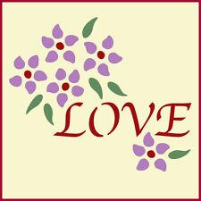 LOVE RING BEARER PILLOW STENCIL  - DIY WEDDING - The Artful Stencil