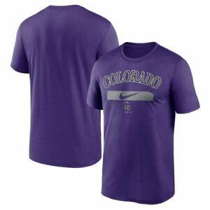 Colorado Rockies Purple City Swoosh Legend T-Shirt Funny Vintage Gift For Men