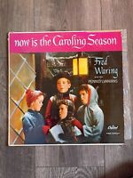 Fred Waring  - Now Is The Caroling Season - vintage 1957 Christmas vinyl LP
