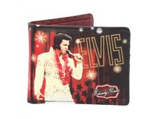 WALLET ELVIS PRESLEY OFFICIAL FOLDING VISA CARDS (not leather) LEATHERETTE NEW
