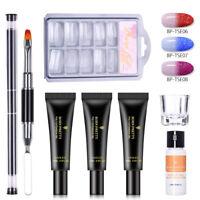BORN PRETTY 20ml  Extention Gel Kits Nail Art Slip Solution Tip UV Gel Brush