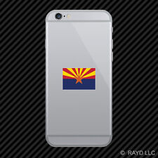 Arizona State Flag Cell Phone Sticker Mobile Die Cut america american