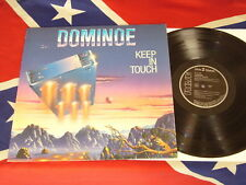 DOMINOE - keep in touch  LP AOR 1988 RCA PL 71757