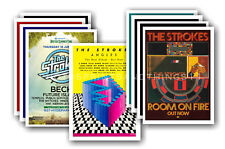 More details for the strokes - 10 promotional posters - collectable postcard set # 1