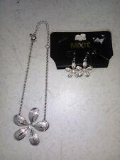 2021 Fashion flower Star collar Crystal Earrings Women Drop Dangle Jewelry Gifts