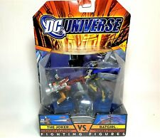 2007  DC Universe Fighting Figures The JOKER Vs BATGIRL Battle Blasters