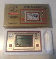 Octopus Game & Watch OC-22 Nintendo 1981 Classic Lcd Handheld Game