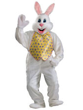 Rubies Costume Co 1925 White Easter Bunny Mascot W Yellow Vest Adult Costume