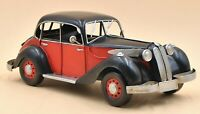 Vintage 1/10 Diecast BMW 327 coupe Black and Red Scale Model Sculpture Figurine