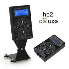 Hurricane Tattoo Power Supply - HP2 'Deluxe' Digital - High Quality - UK Plugs