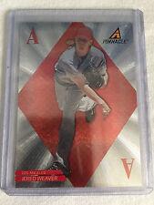 2013 Panini Pinnacle Jered Weaver Anaheim Angels Aces insert card