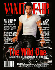 "KEANU REEVES • 16 x 20"" - Vanity Fair COVER ART POSTER • The August 1995 Issue"