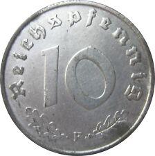 J375  10 Pfennig ALLIIERTE BESATZUNG von 1947 F in VZ-STG   666 385