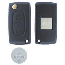 fits Citroen C2 C3 C4Remote Control Key Fob 2 Button Case  battery CR1620 CE0523