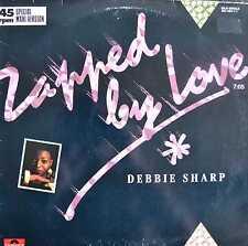 "Debbie Sharp-Zapped by Love - 12"" MAXI SINGLE 1985"