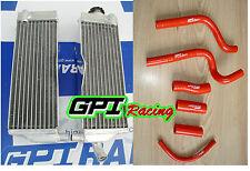 L&R Aluminum Radiator & hose HONDA CR500R CR500 1991-2001 92 93 94 95 96 97 98