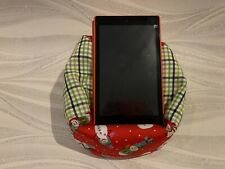 Christmas Snowman iPad tablet cushion Beanbag stand holder fits tablets kindle