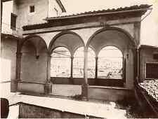 Lombardi. Italie, Siena Vintage albumen print Tirage albuminé  20x25  Circ