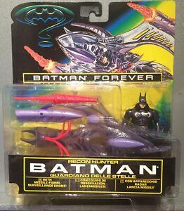 1996 -RARE - Batman Forever Action Figure  -⭐️RECON HUNTER⭐️ Huge Set - 🦇MOC🦇