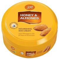 Joy Honey & Almonds Nourishing Skin Cream Wheatgerm Oil Natural Sunscreen 100ml