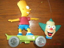 Bart Simpson RC Skateboard w/ Krusty remote control, complete, works perfectly