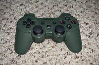 Genuine OEM Sony PlayStation 3 PS3 SixAxis DualShock 3 Controller JUNGLE GREEN