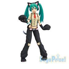 Vocaloid 8'' Hatsune Miku Cat Version SPM Sega Prize Figure Anime Manga NEW
