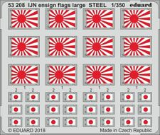 Eduard PE 53208 1/350 IJN ensign flags large STEEL