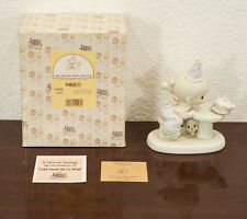 "1992 ENESCO PRECIOUS MOMENTS ""MAY YOUR EVERY WISH COME TRUE"" FIGURE MIB"