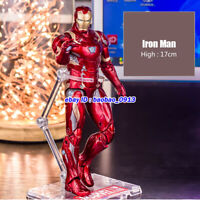 New ZD Marvel Iron Man Avengers Legends Comic Heroes 7in Action Figure Kids Toys