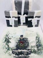 Pottery Barn Queen Duvet Bryce Shams Christmas Buffalo Check Train Pillow Santa