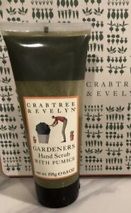 Crabtree & Evelyn Gardeners Hand Scrub with Pumice 6.8 oz~ Factory Sealed ~ NEW