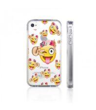 Coque iphone 4 4s Smiley fleur emojii emoticone