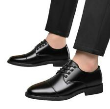 Mens Dress Formal Black Business Leisure Shoes Oxfords Work Office Lace up New D