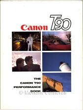 Canon T90 Performance, Camera System & Lens Guide. More Instruction Books Listed